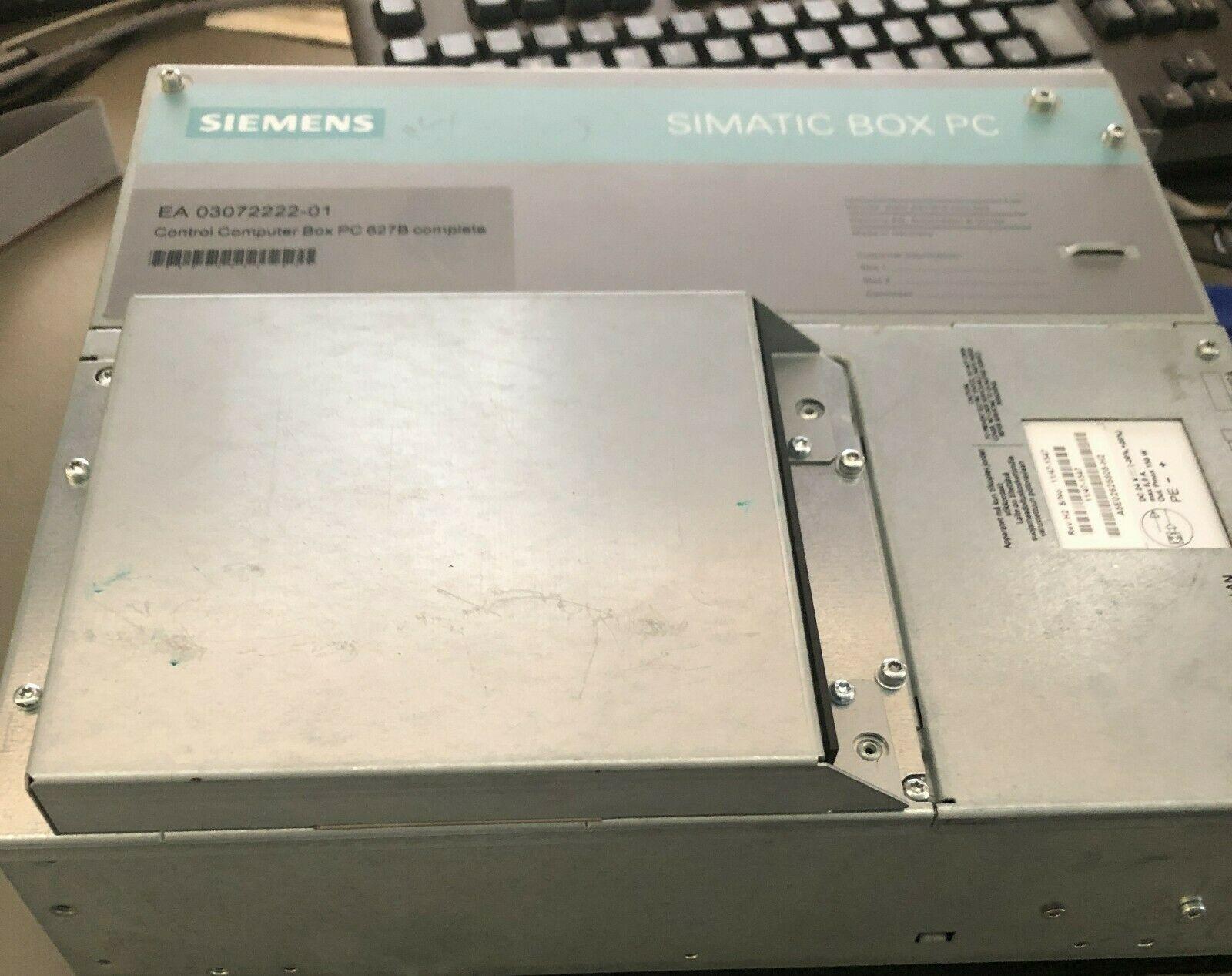 Siemens Simatic 6BK1000-6AE20-1AA0 Box PC 627B (DC) 160 GB, DVD-LW, WinXP-Pro